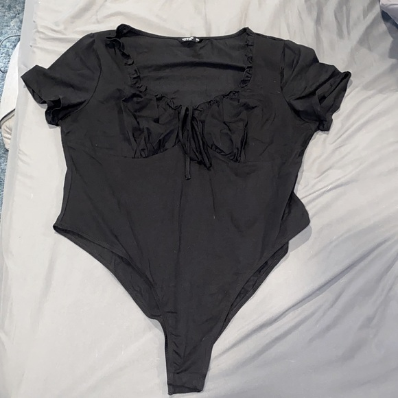 Women's Black Bodysuit